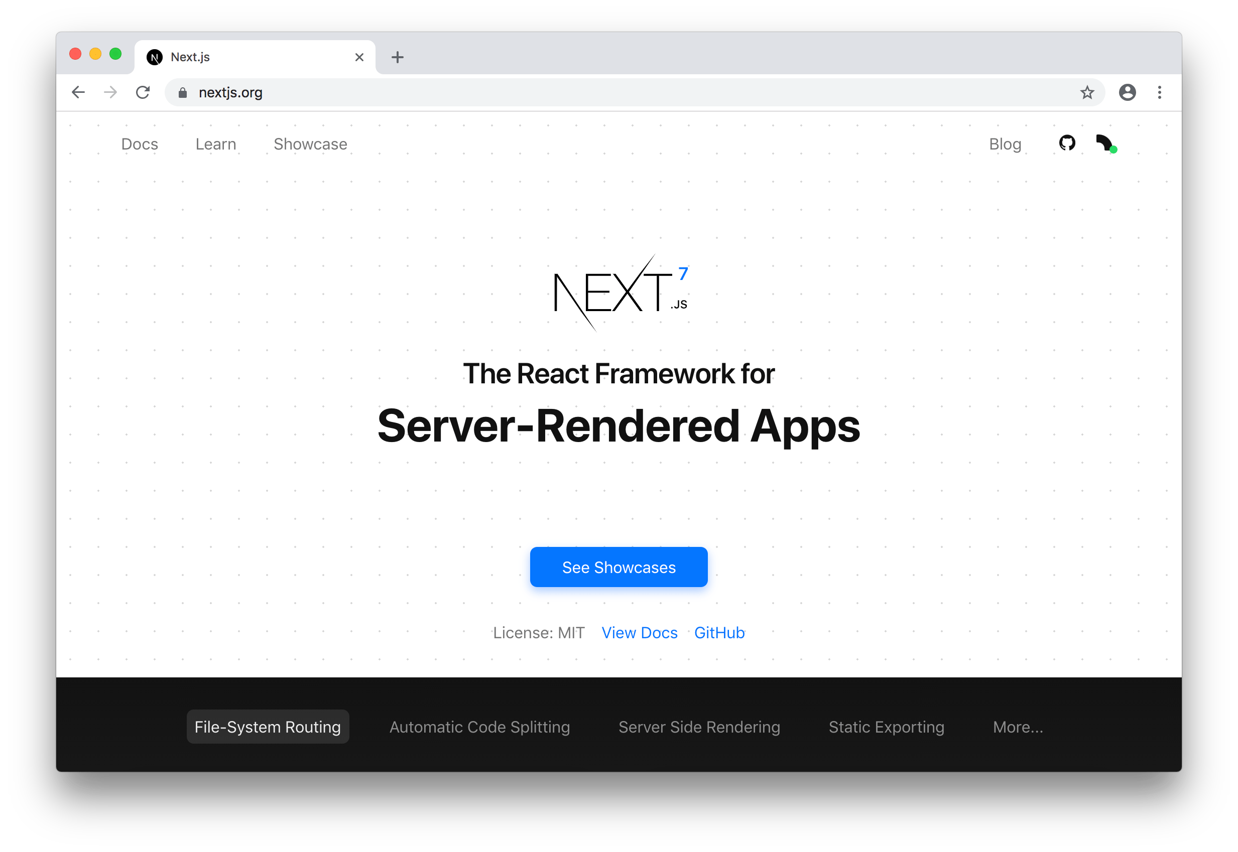 Blog - Next js 7 | Next js