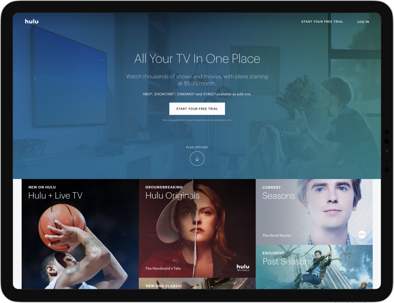 Case Study - Hulu | Next js