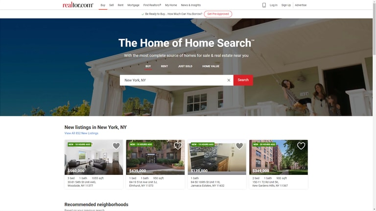 Showcase realtor.com